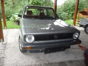 VW Golf 1 Type 17 1982
